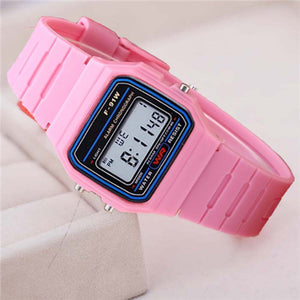 Children Digital Chronograph Alarm , LED Watch