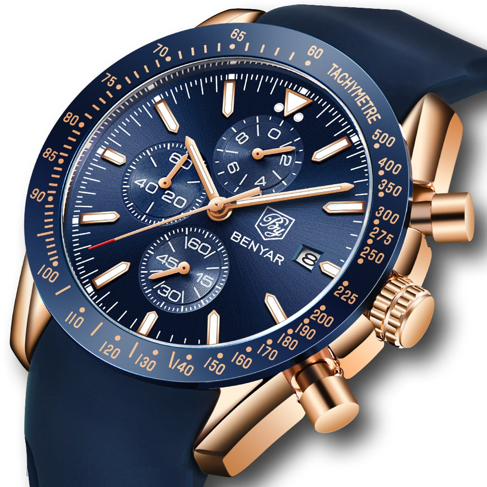 Men Sport Quartz Chronograph