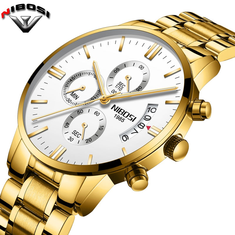 Luxury Sport Military Quartz Waterproof Watch