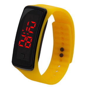 Unisex Sports Bracelet Silicon LED Watches