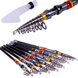 Travel Fishing Pole Telescopic Rod & Reel