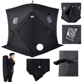 2 Person Insulated Waterproof Ice Shack + Door Buster Bonus of 30X Spinner Lures / Free Shipping