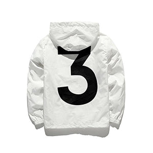 Yeezy Coat White Windbreaker Ultra Hiphop Streetwear Outwear Jacket