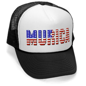 Murica Fourth of July USA Trucker Hat