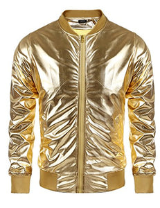 Yeezy Coat Solid Gold Varsity Jacket
