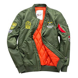 Yeezy Coat Air Force Green Bomber Jacket with Patches