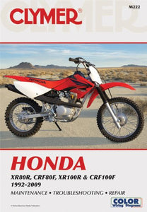 Honda CRF 100 Service Manual | Also Covers XR80R, CRF80F, XR100R 1985 - 2016