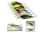 43 X Mixed Crank Bait Tackle Lures Set / FREE SHIPPING