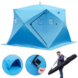 4 Person Insulated Waterproof Ice Shack / Free Shipping