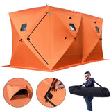 8 Person Insulated Waterproof Ice Shack / Free Shipping