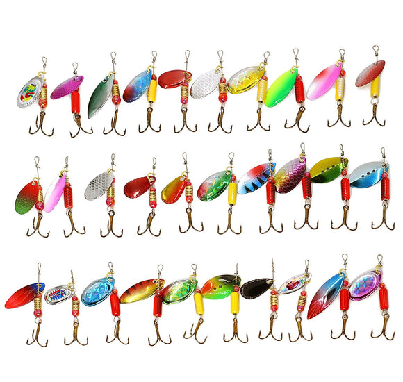 30 X Spinner Bait Lures / FREE SHIPPING