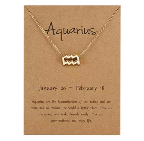 Aquarius (Necklace)