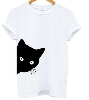 Cotton Casual Funny t shirt For Lady Girl Top Tee