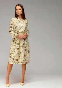 Autumn Casual Knee-Length Dress