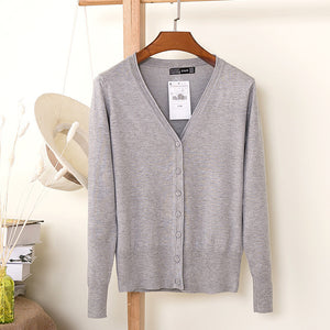 Sweet Crochet Knitt Long-sleeve Sweaters Cardigans