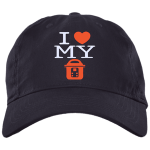 I Love My Instant Pot Brushed Twill Unstructured Dad Cap