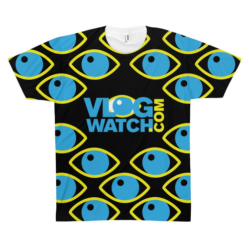VlogWatch Unisex AOP Sublimation Tee
