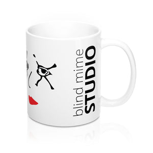 Blind Mime Mug 11oz
