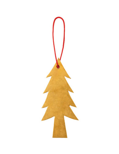 Brass Tree Ornament