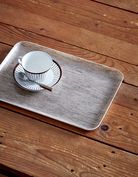 Linen Tray M Natural