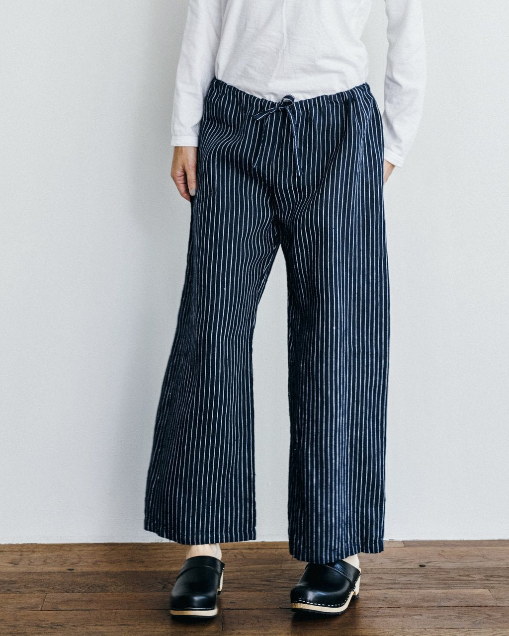 Linen Oise-Drawn String Pants George