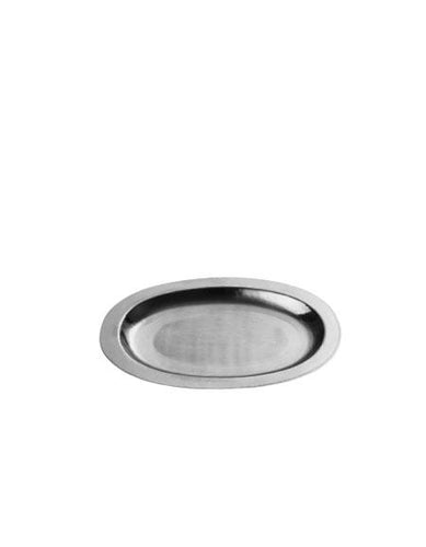Steel Tray Oval Small