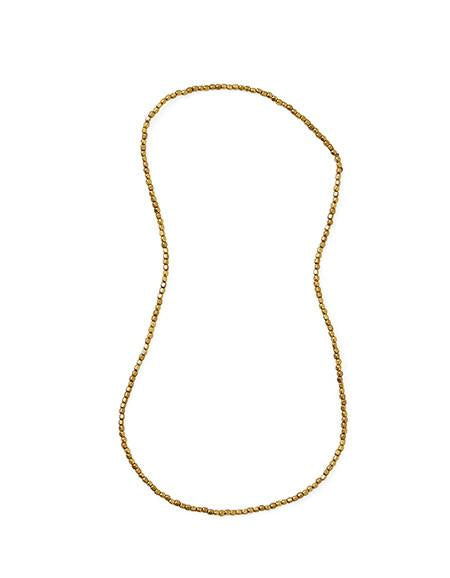 Brass Beads Necklace S