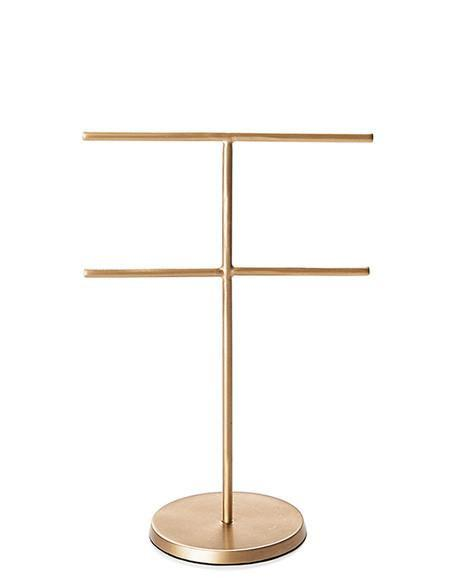 Brass Accessory Stand Large