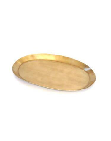 Brass Tray Oval M