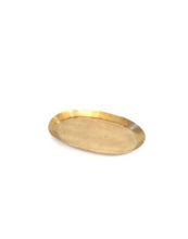 Brass Tray Oval S