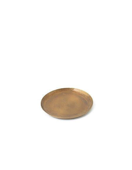 Brass Plate Round Medium
