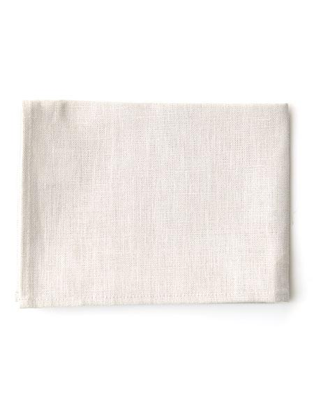 Thick Linen Kitchen Cloth Albatre