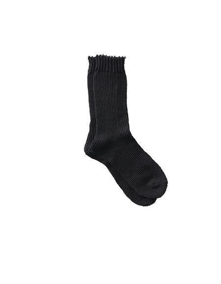 Linen Socks Black