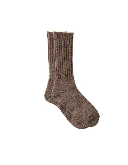 Mohair Socks Brown