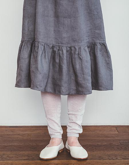 Linen Leggings Silver
