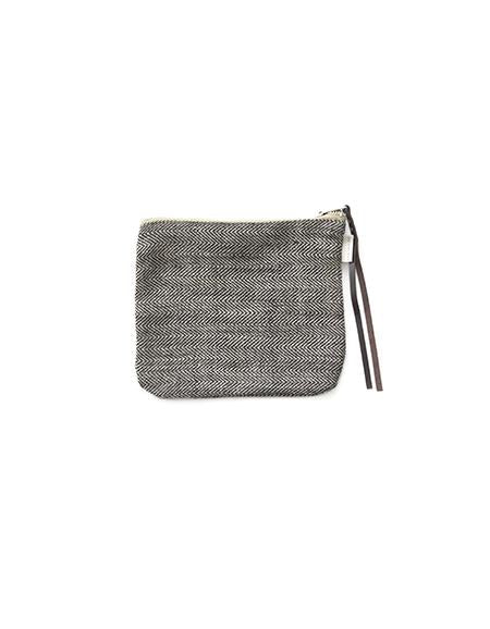 Canna Pouch Herringbone Medium