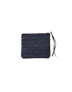 Canna Pouch Navy Pin Stripes Medium