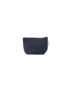 Tim Pouch Navy Pin Stripes