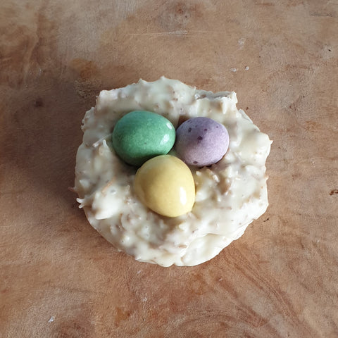 Easter Nest White Chocolate