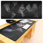 Large Rubber Gaming Mouse Pad, Locking Edge