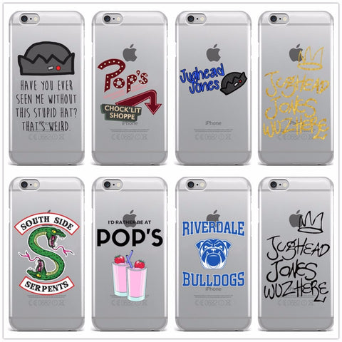 Riverdale Clear Case For iPhone
