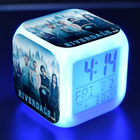 Riverdale LED Alarm Clock