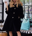 NEW IN Monaveen Pearla leather sheepskin Teddy BLACK