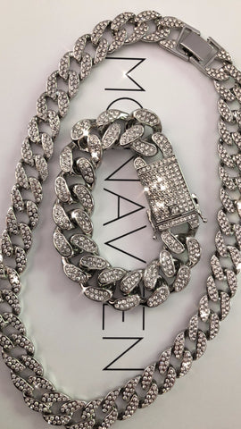 NEW IN,  Ice Collection 18inch NECKCHAIN