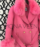 The Monaveen Sophie Wool Cashmere Coat
