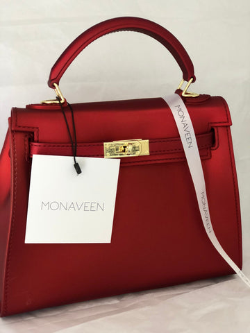Monaveen Matt Collrction RUBY RED