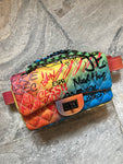 "NEW IN ""BL**DY NEED IT"" Small Size BELT Bag/ Hand Bag"