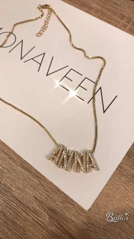 NEW IN,  Say it, Name it NECKLACE