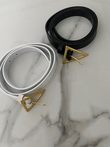 NEW IN,  MONAVEEN WYONNA Triangle Buckle BELT