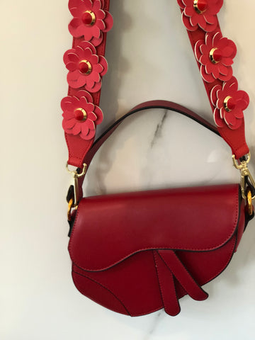 NEW IN Monaveen Flower Saddle Bag